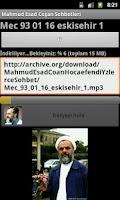 Screenshot of Mahmud  Esad Coşan Sohbetleri