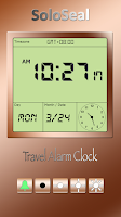 Screenshot of Travel Alarm Clock