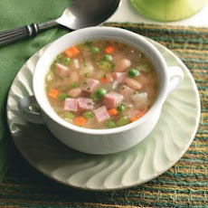 Ham, Bean and Potato Soup