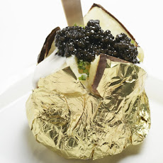 Potatoes With Crème Fraiche And Caviar