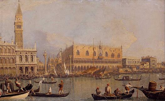 Canaletto, Veduta del canal grande