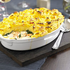 Fish Pie With Saffron Mash