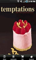 Screenshot of Temptations Cookbook