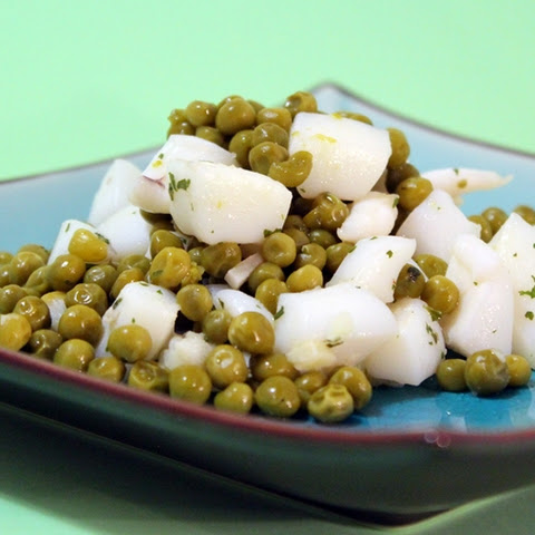 Peas Sprinkled with Cuttlefish