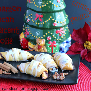 Cinnamon Pecan Crescent Rolls and Giveaway