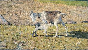 RIJKS: Giovanni Segantini: painting 1890