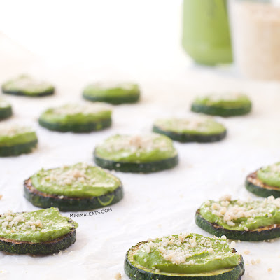 Vegan Zuchinni Pizza Bites