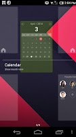 Screenshot of Calendar Panel