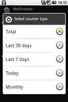 Screenshot of NetCounter