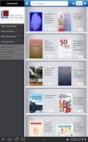 Screenshot of Biblioteca Virtual Universitár