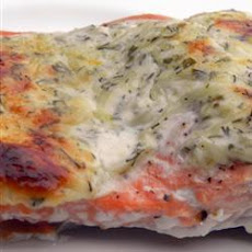 Creamy Dill and Tarragon Salmon