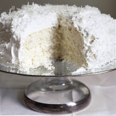 Ono Coconut Cake with Coconut Frosting
