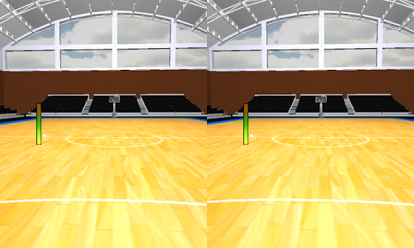 Basketball VR for Cardboard apk screenshot
