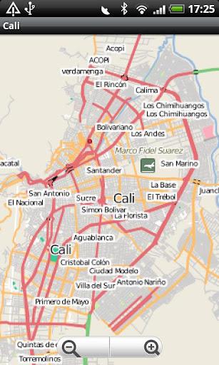 Cali Street Map