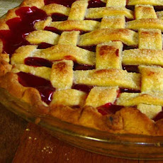 Taste-of-fall Cherry Pie
