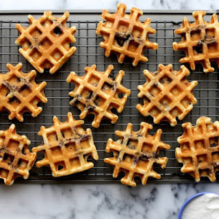 All the Blueberries Buttermilk Waffles