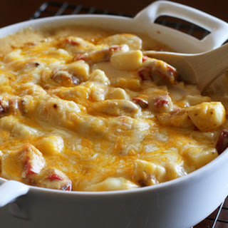 Potato Casserole With Andouille Sausage