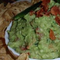 California Guacamole with Bacon