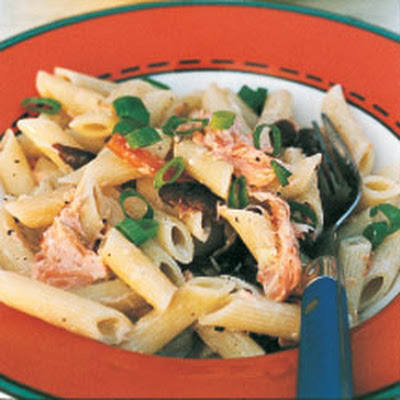 Penne Rigate with Smoked Salmon