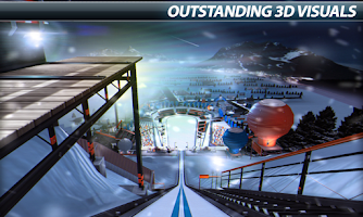 Screenshot of Super Ski Jump - Winter Rush