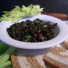 Portabella Mushroom, Onion and Sage Spread