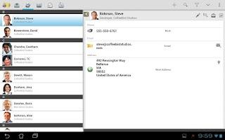 Screenshot of TouchDown HD
