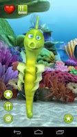 Screenshot of Talking Sheila Seahorse