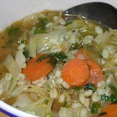 Weight Watchers Veggie Barley Soup (1 Pt. for 1 Cup)