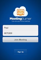 Screenshot of Meeting Burner