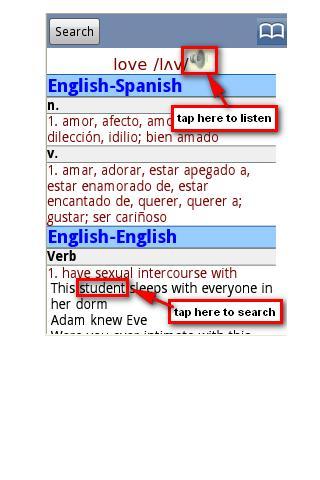 免費下載書籍APP English Spanish Dictionary Pro app開箱文 APP開箱王