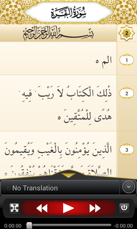 Tafheem-ul-Quran Screenshot 0