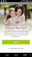 Screenshot of SMS Tracker Plus