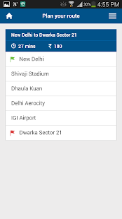 Delhi Airport Express Metro - screenshot
