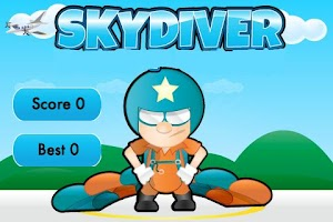 Screenshot of SkyDiver
