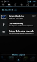 Screenshot of Battery Watchdog