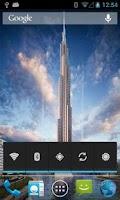 Screenshot of Dubai Live Wallpapers