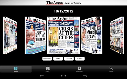 app the argus newspaper apk for windows phone android games and apps. Black Bedroom Furniture Sets. Home Design Ideas