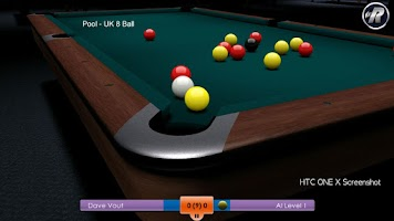 Screenshot of International Snooker Pro HD