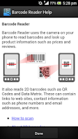 Screenshot of BAR Code Reader