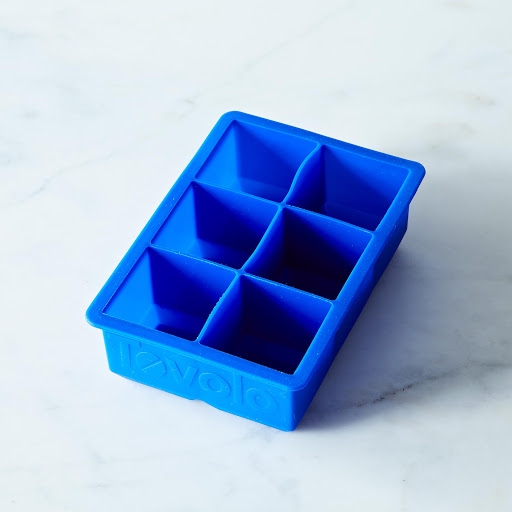 Square Ice Cube Tray Set