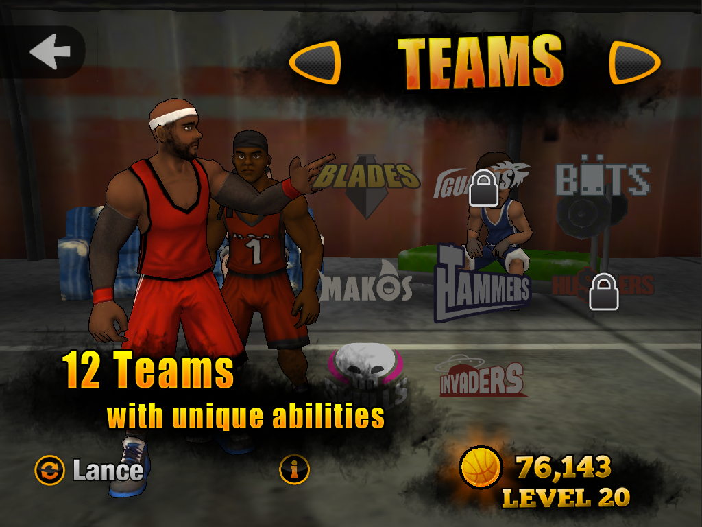 Jam League Basketball Screenshot 12