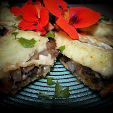 Mushroom and Brie Melts