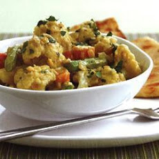 Cauliflower And Lentil Curry