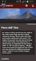 Screenshot of Sicily Travel Guide - Tourias