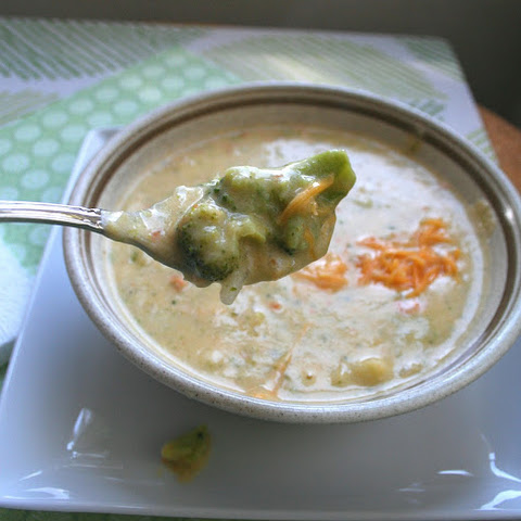 Paneras Broccoli Cheddar Soup