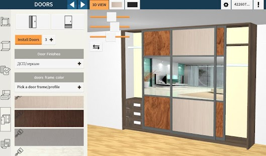 Download utile closet pro 3d designer apk on pc download for 3d wardrobe planner