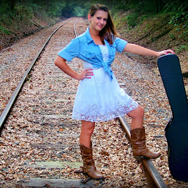 On my way by Stephanie Lariscy - People Musicians & Entertainers ( music,  )