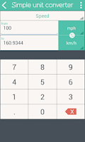 Screenshot of Simple Unit Converter