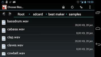 Screenshot of Beat Maker