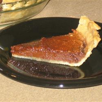 Chocolate Chess Pie I